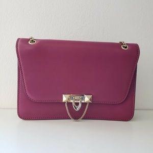 Valentino Demilune Crossbody Handbag - Pink